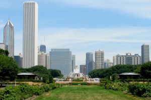 Chicago Grant Park and Buckingham Fountain
