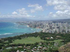 Honolulu Hawaii from Diamond Head