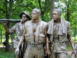 Vietnam Soldiers Statues Washington DC