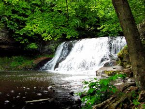 Waterfall in Connecticut